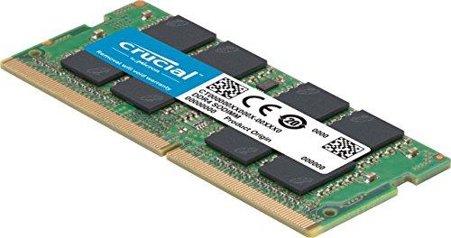 Barrette Mémoire DDR4 Crucial CT8G4SFS824A 8Go - 2400 MT/s, PC4-19200, Single Rank x8, SODIMM, 260-Pin