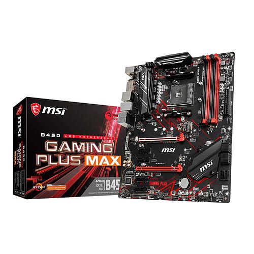 Carte-mère MSI B450 Gaming Plus Max