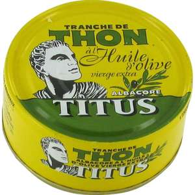 Thon à l'huile d'olive Titus - 3x 160g (Meylan 38)