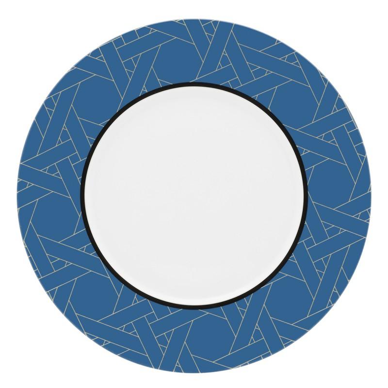 Assiette Plate Ronde Degrenne - 28cm, Cannage Parisien