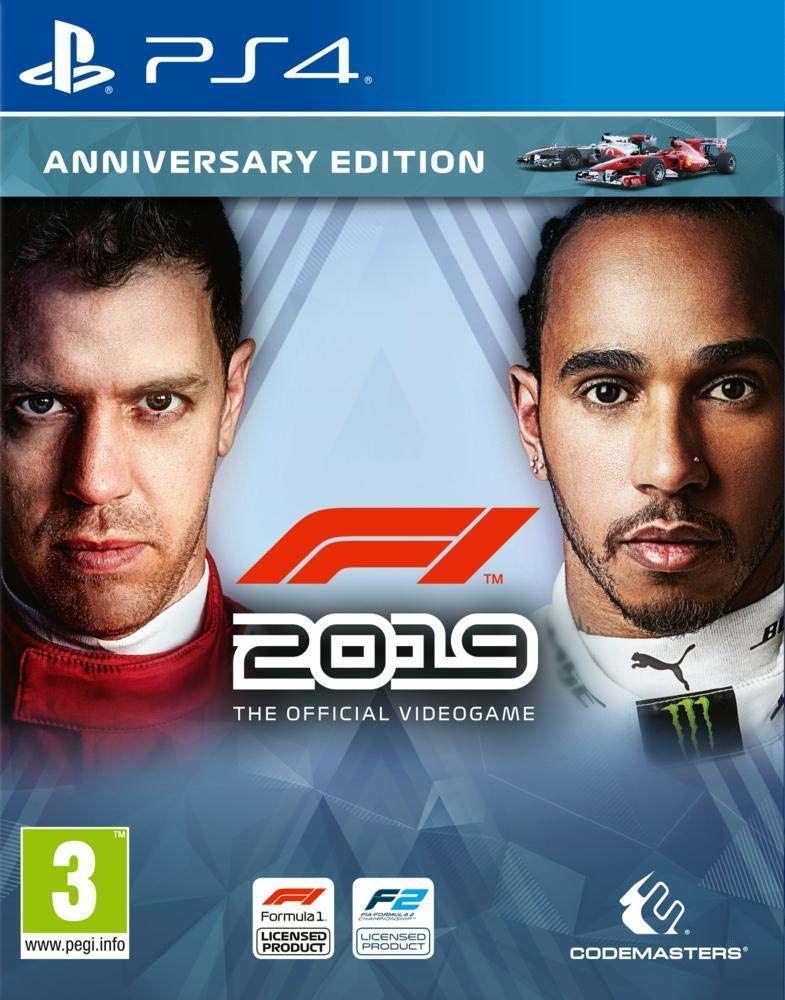 F1 2019 - Édition Anniversaire sur PS4 (Vendeur tiers)