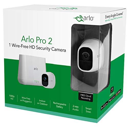 Système de sécurité sans fil avec caméra VMS4130P - HD 1080p, fonction audio, vision nocturne et conception étanche