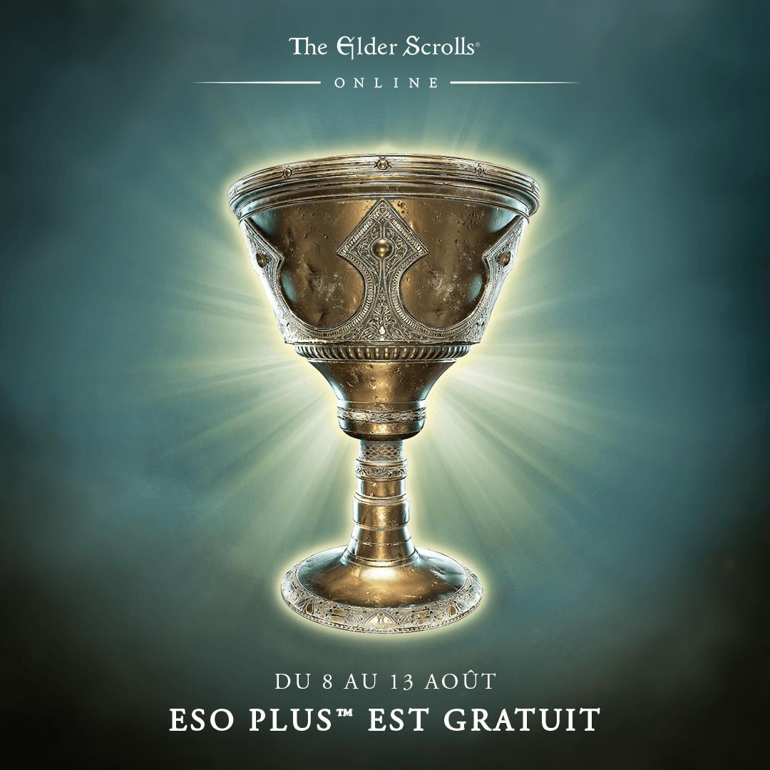 Abonnement Eso Plus pour The Elder Scrolls Online Gratuit du 8 au 13 Août (Dématérialisé)