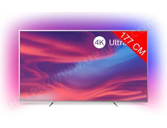 """TV 70"""" Philips 70PUS7304/12 - 4K, Ambilight 3 côtés, HDR10+"""