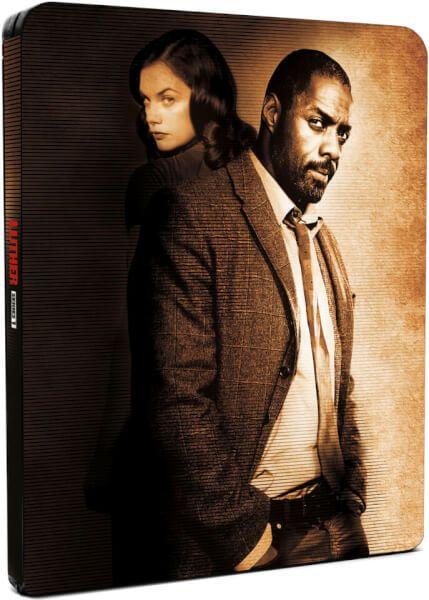 Blu-ray Luther : l'intégrale de la saison 1 édition Steelbook Exclusivité Zavvi (en Anglais)