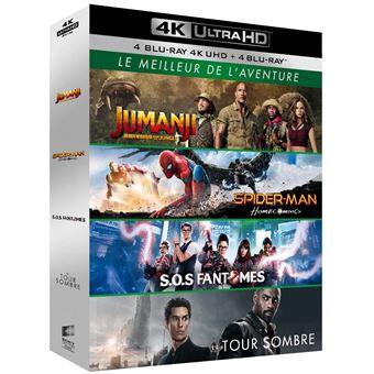 Coffret Blu-ray 4K Le Meilleur de l'aventure - Longwy (54)
