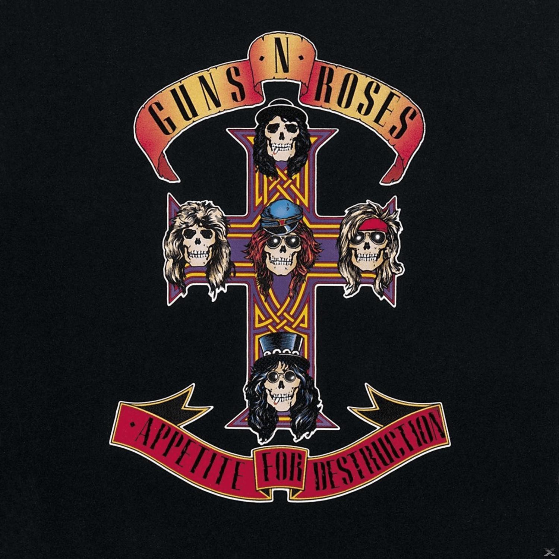 Vinyle Appetite for Destruction - Guns N' Roses Édition limitée