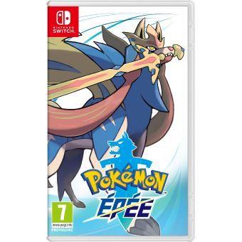 [Précommande / Adhérents] Jeu Pokemon épée ou bouclier (+10€ sur le compte fidélité)