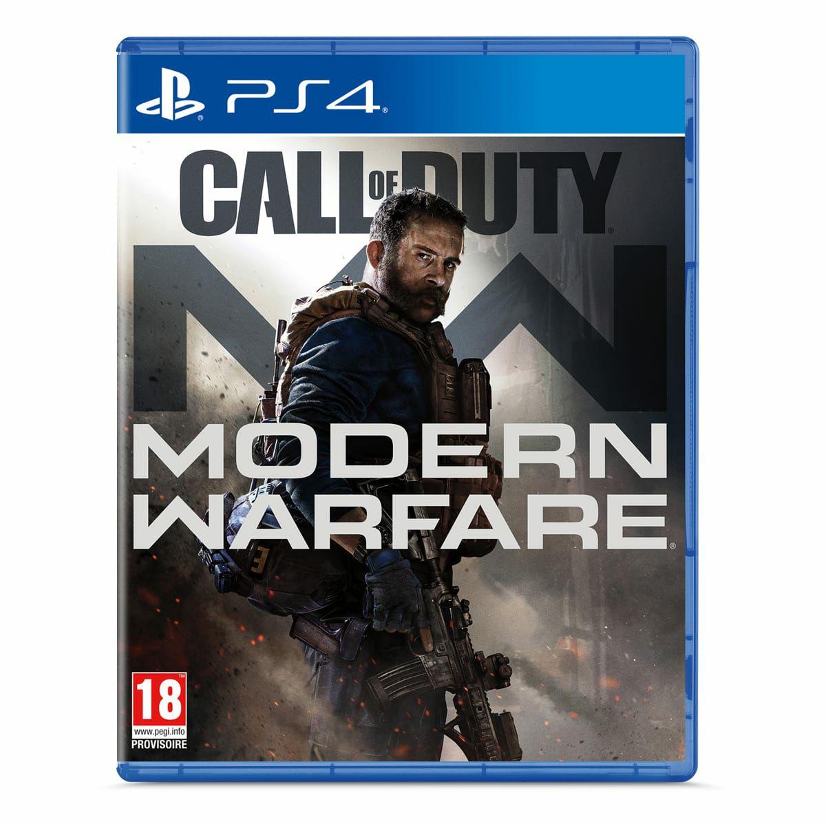 [Précommande] Call Of Duty Modern Warfare sur PS4