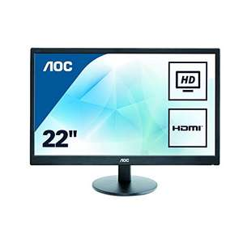 "Écran 21,5"" AOC E2270SWHN - Full HD, Dalle TN, WLED, 5 ms, 75 Hz"