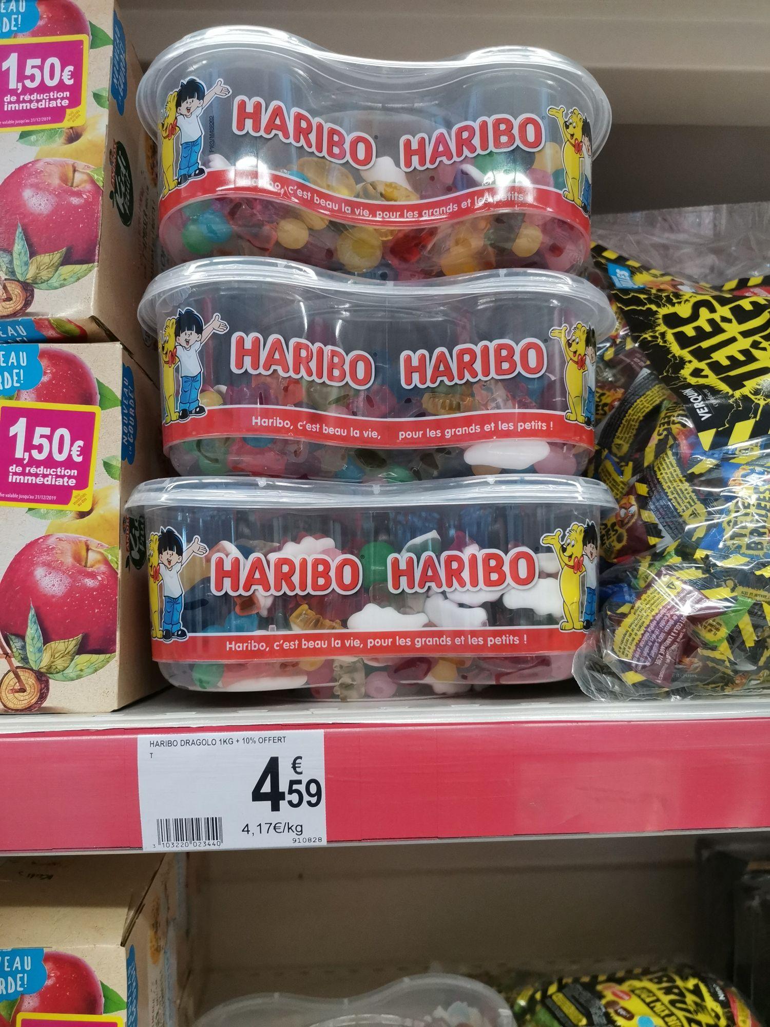 Boite de bonbons Haribo Dragolo 1.1Kg - Volx (04)