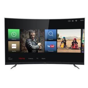 """TV LED 55"""" Thomson 55UZ6096 avec barre de son intégrée - 4K UHD, Incurvé, Smart TV"""