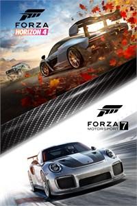 Lot Forza Horizon 4 + Forza Motorsport 7 sur Xbox One (Dématérialisé)