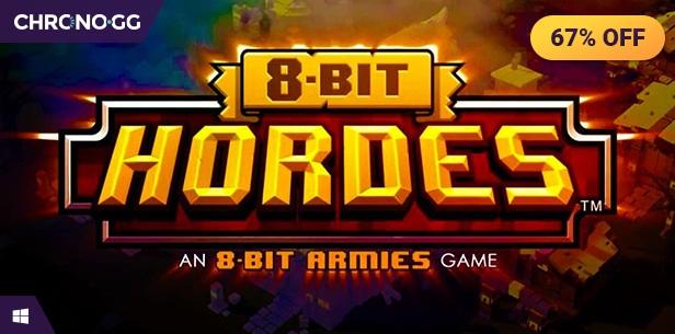 8-Bit Hordes sur PC (Dématérialisé - Steam)