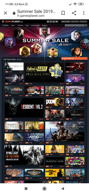 Sélection de jeux en promotion sur PC -