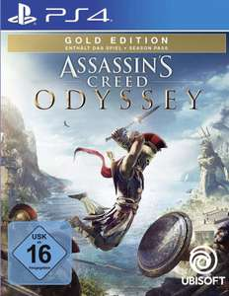 Assassin's Creed Odyssey Gold Edition sur PS4 (Dématérialisé)