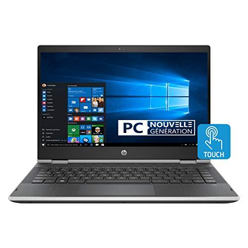"PC Ultraportable Convertible Tactile 14"" HP Pavilion x360 14-cd1003nf - HD, i5-8265U, RAM 8Go, SSD 256Go, Windows 10"