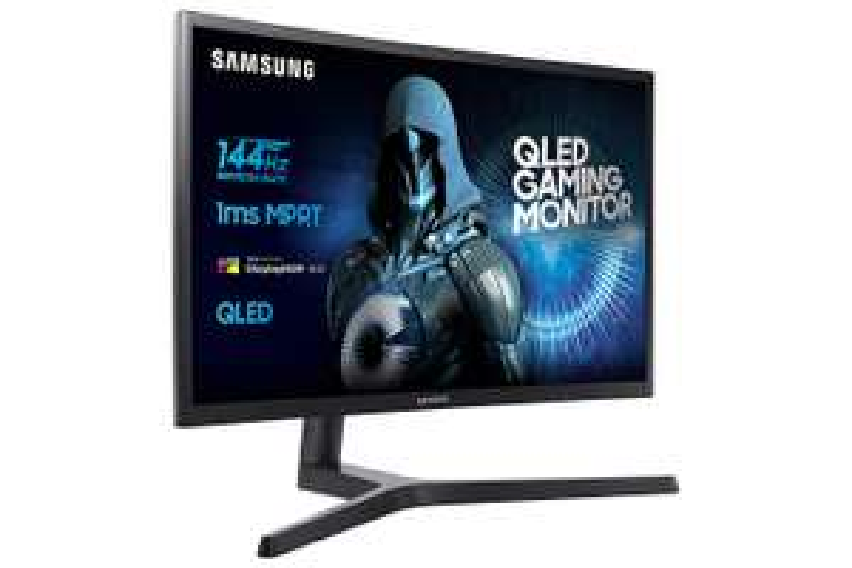 "Ecran PC QLED 27"" Samsung C27HG70 - WQHD, VA, 144Hz, 1ms, FreeSync 2 (Compatible G-Sync), HDR"