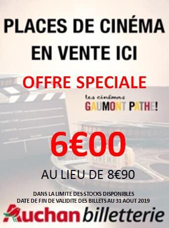 Place de cinéma Pathé Gaumont (valable jusqu'au 31 août) - Saint-Priest (69)