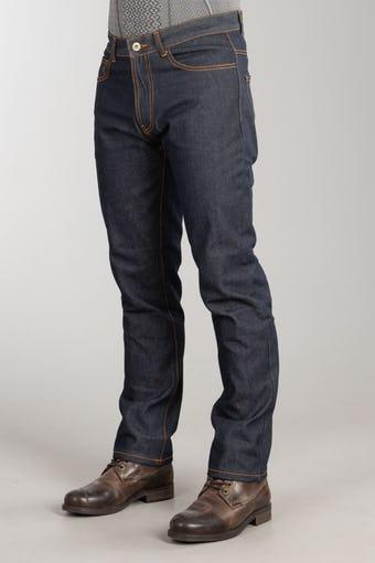 Sélection de 9 modèles de jeans pour moto (homme et femme) avec renforts en aramide - Ex : Jean Moto Course Heavy Duty - Denim