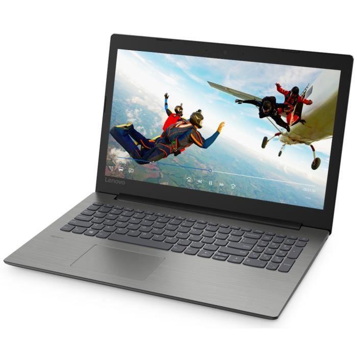 "PC portable 15.6"" full HD Lenovo Ideapad Onyx 330-15ARR - Ryzen 7-2700U, Radeon Vega 8, 8 Go de RAM, 1 To + 128 Go en SSD, Windows 10"