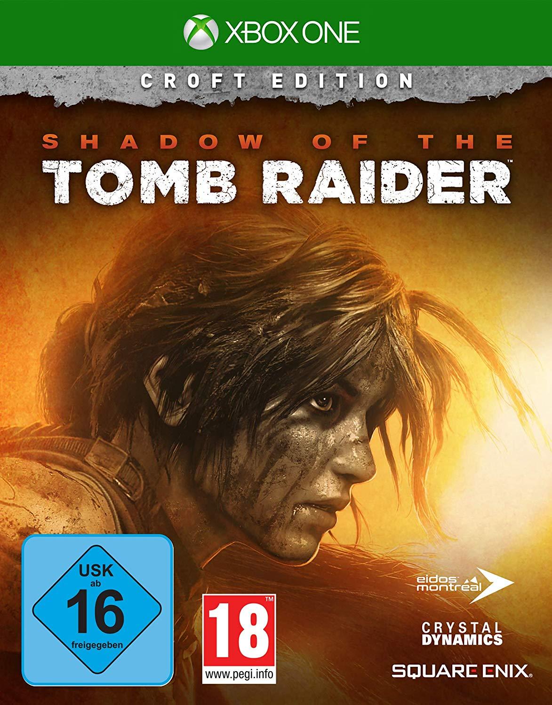 Shadow Of The Tomb Raider - Croft Edition: Le Jeu + Tous les DLC sur Xbox One