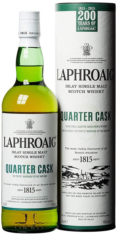 Bouteille de Scotch Whisky Laphroaig Quarter Cask Islay Single Malt - 0.7L