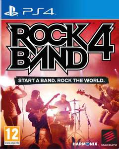 Jeu Rock Band 4 sur PS4 (Via l'Application)