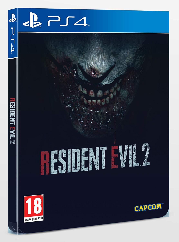 Resident Evil 2 + DLC - Edition Steelbook sur PS4 et Xbox One
