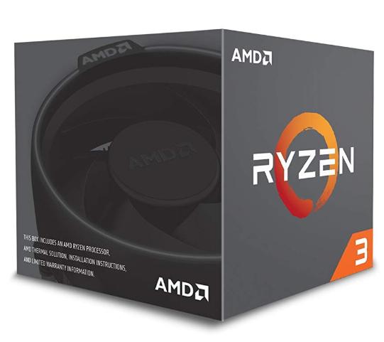 Processeur AMD Ryzen 3 1300X Wraith Stealth Edition (3.4 GHz)