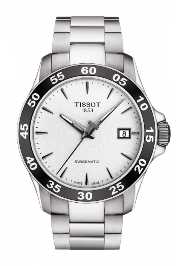 Montre automatique Tissot V8 Swissmatic T106.407.11.031.00 - Verre Saphir, 42.5mm