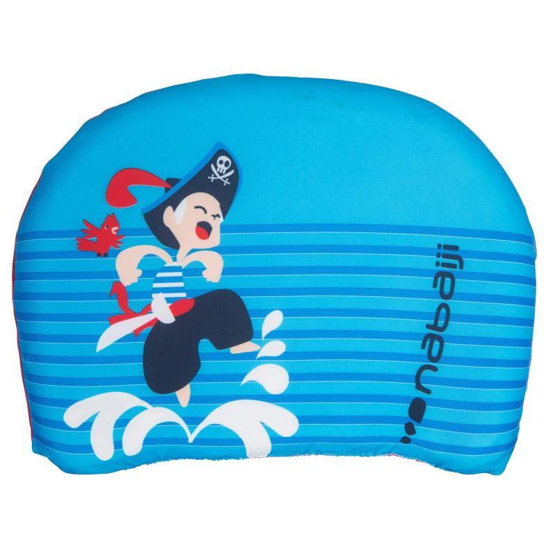 Planche de natation Nabaji pour Enfant - Bleue avec imprimé Pirate