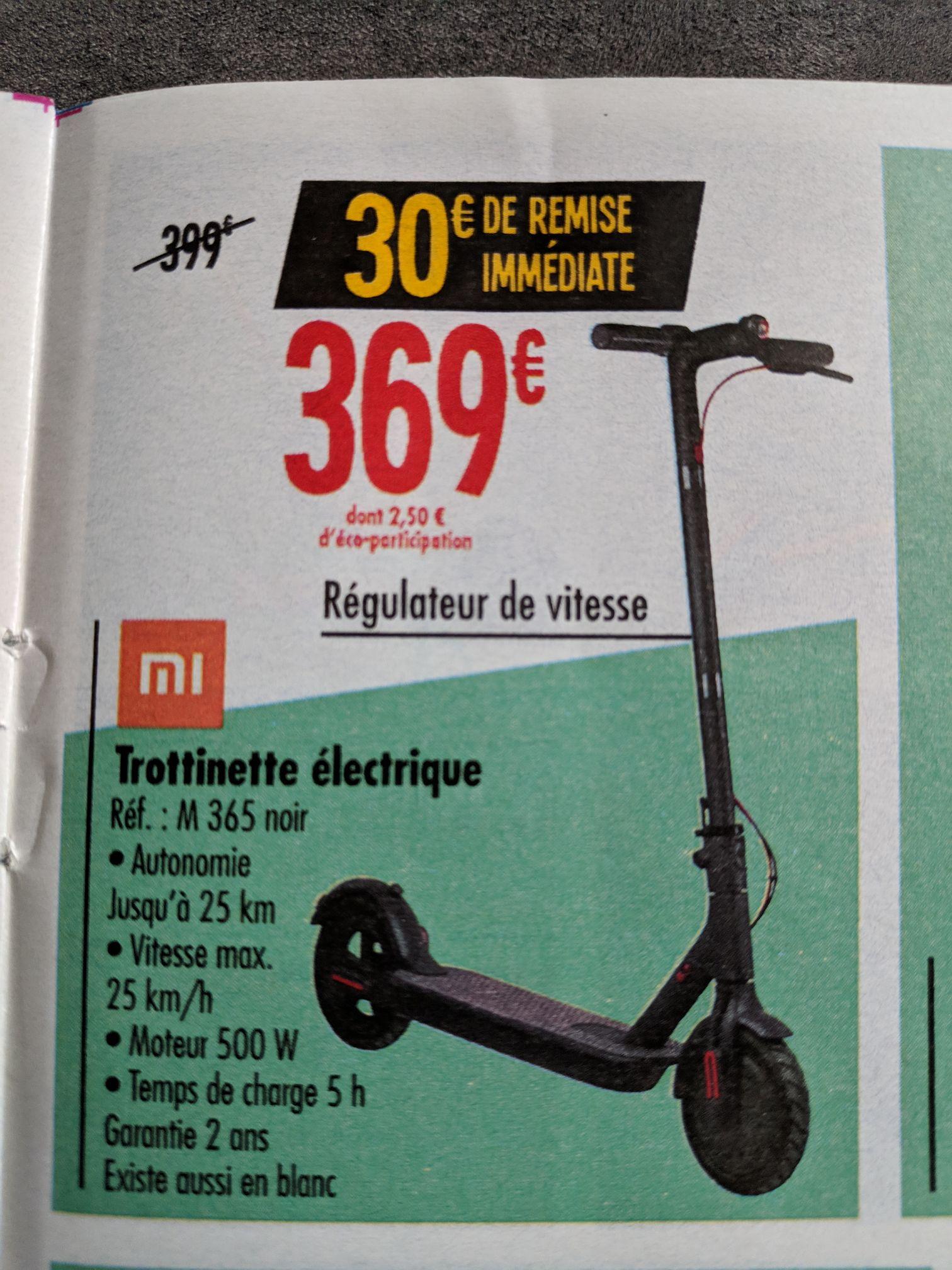 Trottinette électrique Xiaomi M365 - Noir