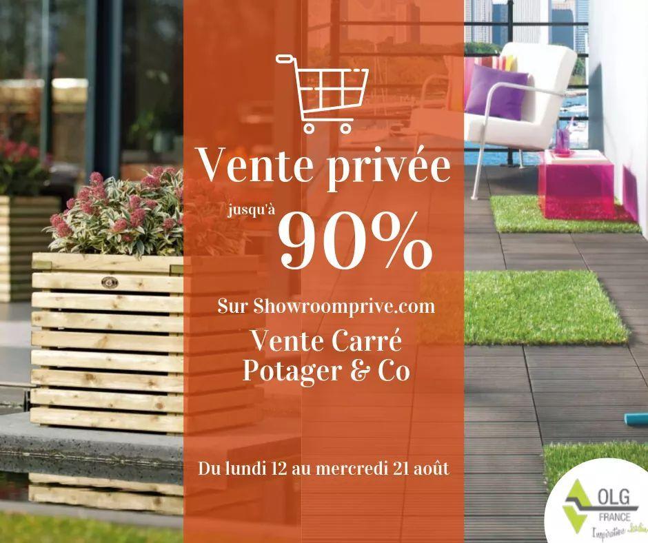 Sélection de produits en bois pour le jardin Carré Potager & Co. en promotion