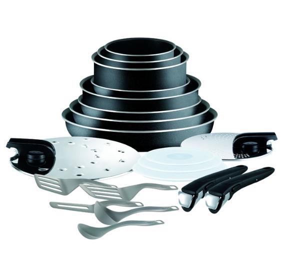 Batterie de cuisine Tefal Ingenio Essential - 20 pièces
