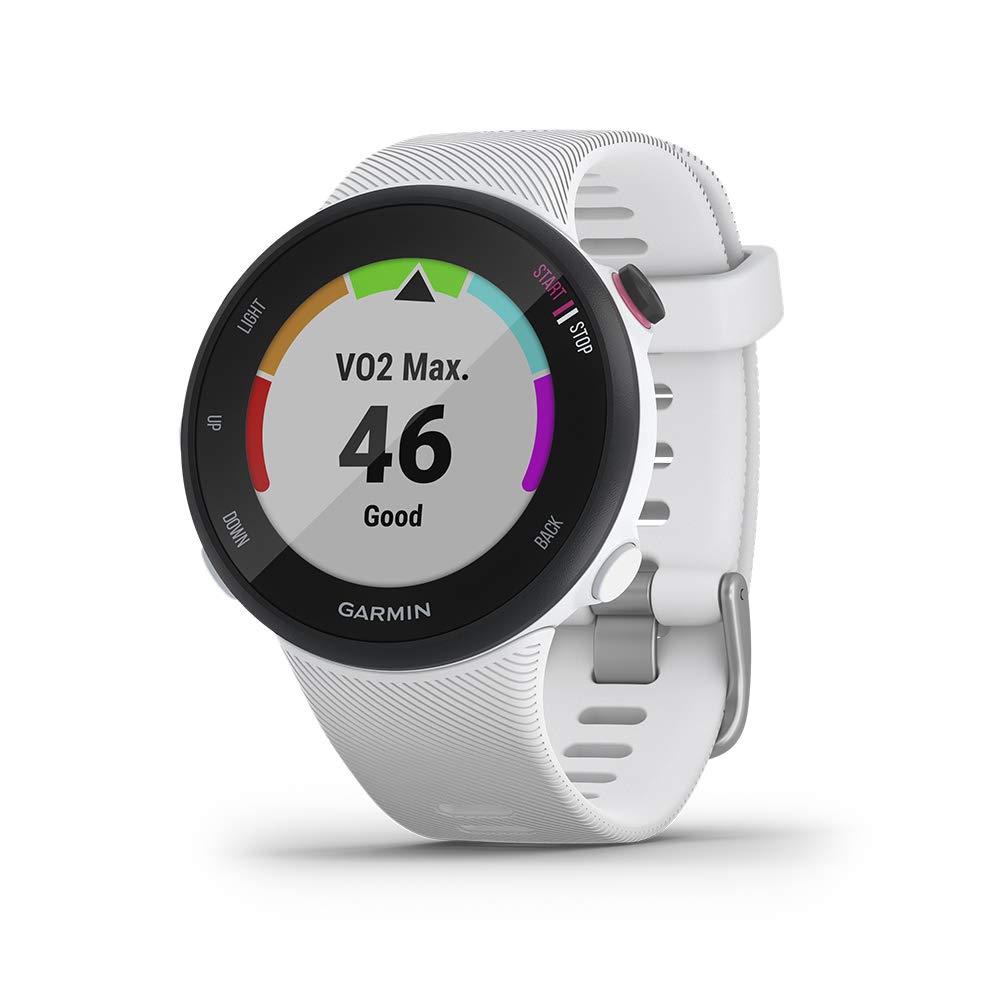 Montre GPS Garmin Forerunner 45 avec prise en charge des programmes d'entraînement Garmin Coach