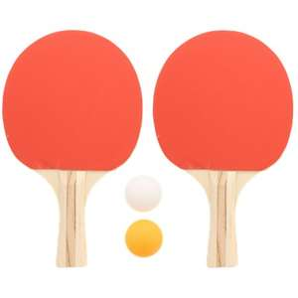 Set de Tennis de Table - 2 Raquettes + 2 Balles + Sacoche