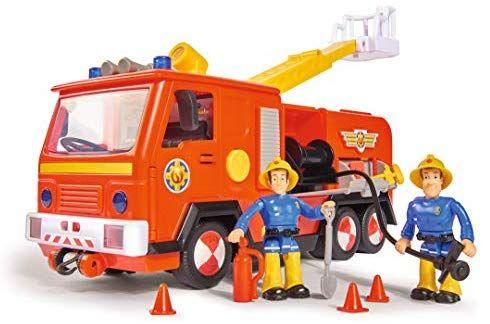 jouet voiture de pompier simba 109251036 sam le pompier. Black Bedroom Furniture Sets. Home Design Ideas