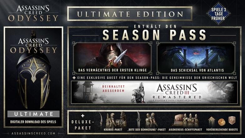 Assassin's Creed Odyssey Ultimate Edition sur PC (Dématérialisé - Uplay)