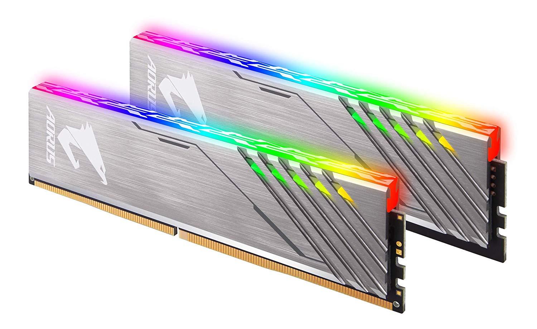 Kit Mémoire DDR4 Gigabyte Aorus GP-AR32C16S8K2HU416RD RGB 16Go (2 x 8Go) - 3200MHz + 2 Modules Factices