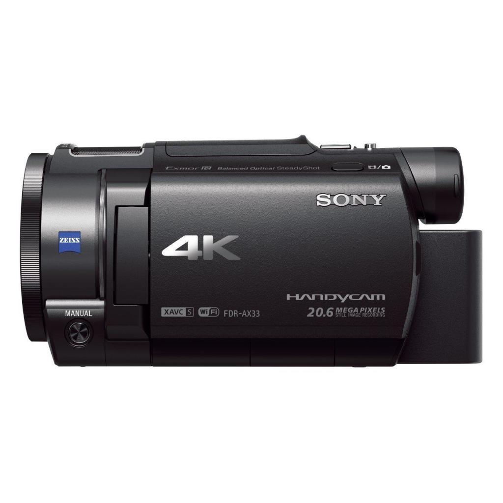 Camescope 4K Sony FDR-AX33 Zoom Optique 10 x 18.9 Mpix