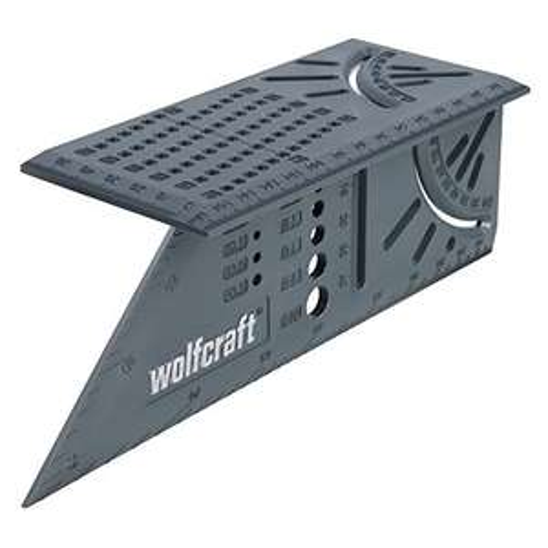 Équerre de coupe en biais 3D Wolfcraft 5208000
