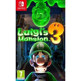 [Précommande] Luigi's Mansion 3 sur Nintendo Switch + porte-clés exclusif Polterpup (+ 10€ en fidélité pour les Adhérents)