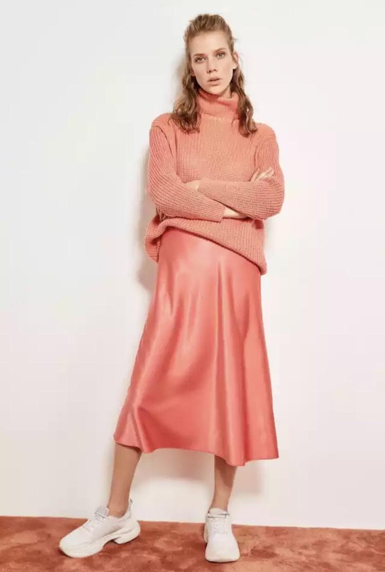 Jupe Femme Corail Rouge - Plusieurs tailles (via l'Application)