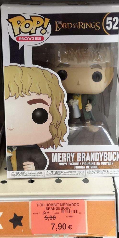 Figurine Funko Pop! Movies: Lord of the Rings Merry Brandybuck - Puilboreau (17)