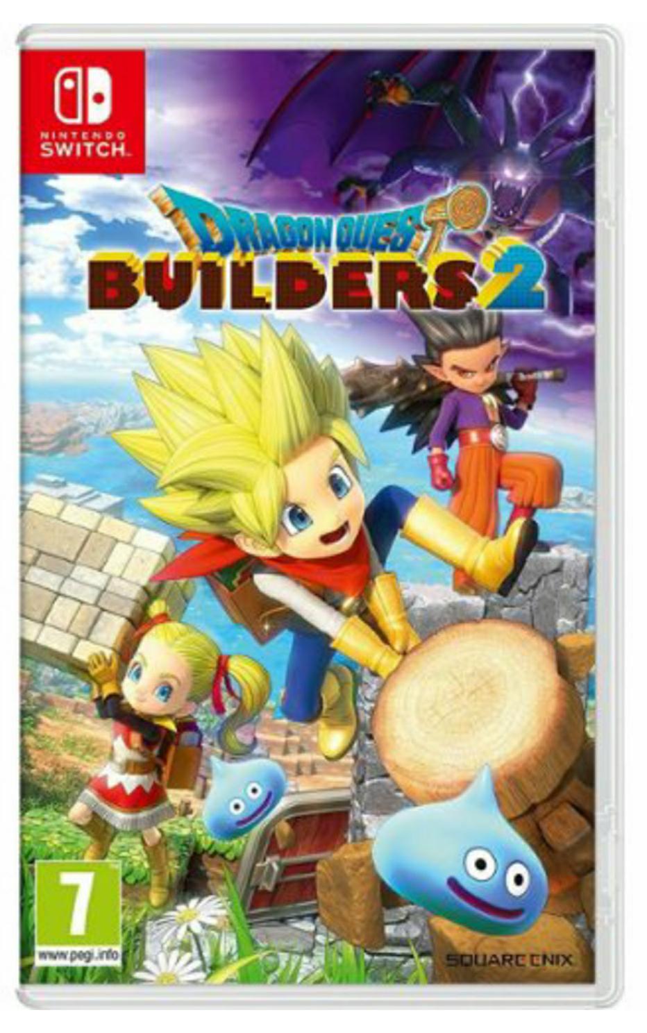 Sélection de jeux vidéo en promotion - Ex : Dragon Quest Builders 2 sur Nintendo Switch (+ 2,25€ de SuperPoints)