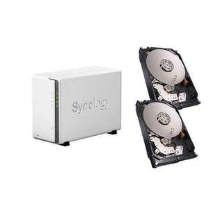 Nas Synology DS215j + 2x disques Seagate NAS 2 To