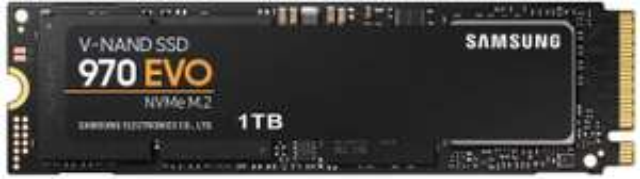 SSD Interne NVMe M.2 Samsung 970 EVO MZ-V7E1T0BW - 1 To