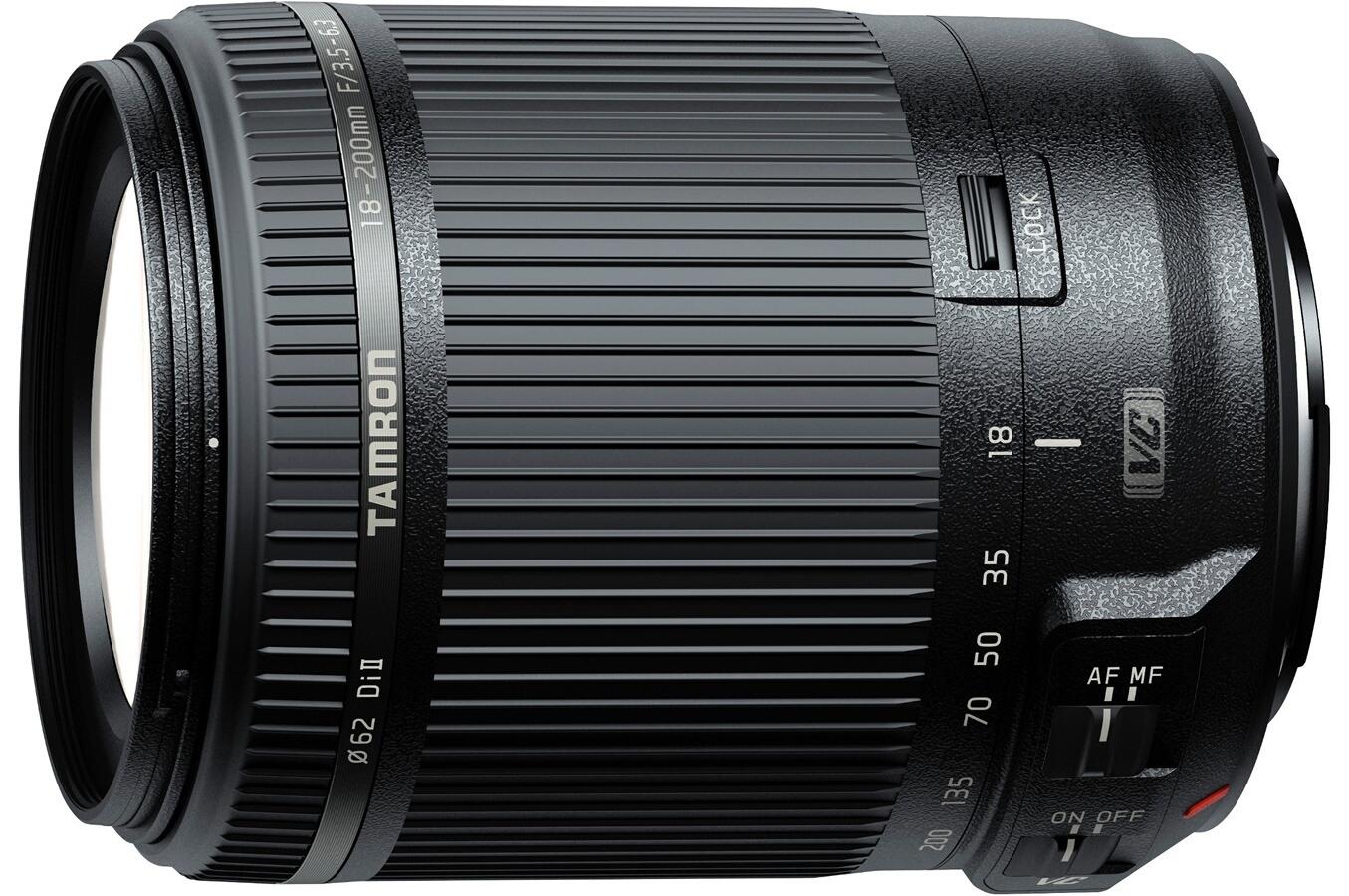 Objectif Zoom Tamron 18-200mm F/3.5-6.3 Di II VC - Monture Nikon DX (capteur APS-C)