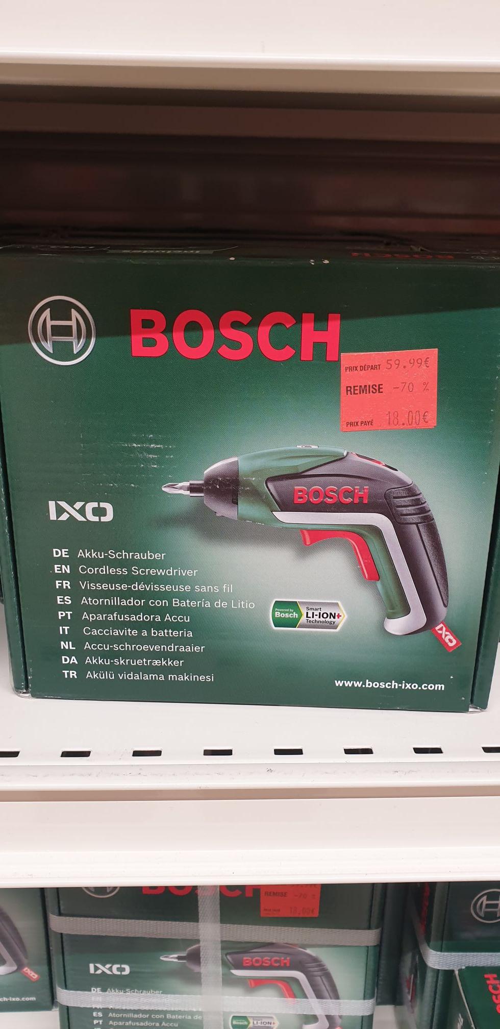 Visseuse sans-fil Bosch IXO - Chelles (77)